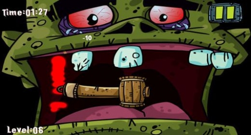 Capturas de pantalla del juego Zombie dentist para iPhone, iPad o iPod.