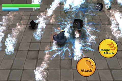 Screenshots of the Zombie: Dungeon breaker game for iPhone, iPad or iPod.