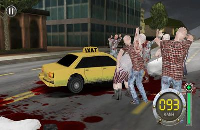 Screenshots vom Spiel Zombie Escape-The Driving Dead für iPhone, iPad oder iPod.