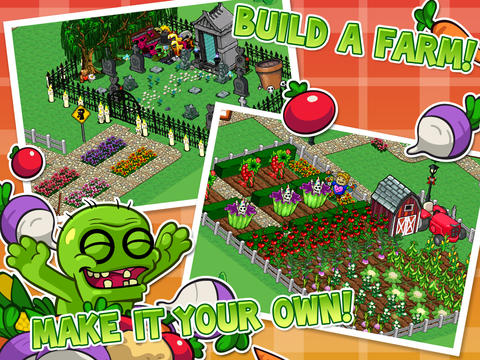 Download Zombie Farm 2 iPhone free game.