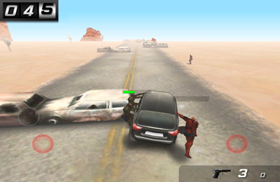 Download Zombie highway iPhone free game.