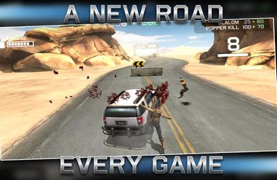 Screenshots of the Zombie Highway: Driver's Ed game for iPhone, iPad or iPod.