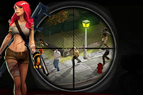 Download Zombie hunter: Bring death to the dead iPhone free game.