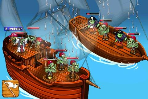 Capturas de pantalla del juego Zombie isle para iPhone, iPad o iPod.