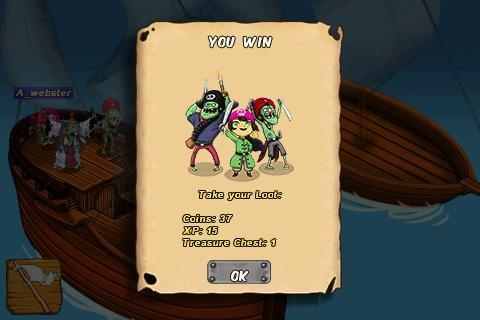 Screenshots of the Zombie isle game for iPhone, iPad or iPod.