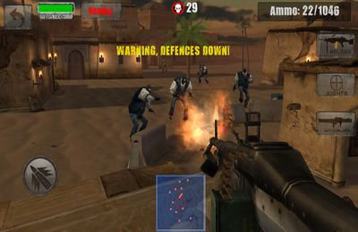 Download Zombie Jeep Gunner iPhone free game.