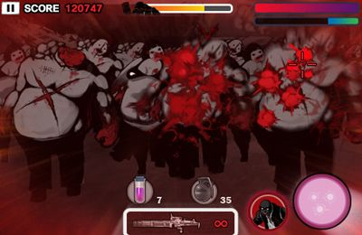 Screenshots of the Zombie Killer Ultimate game for iPhone, iPad or iPod.