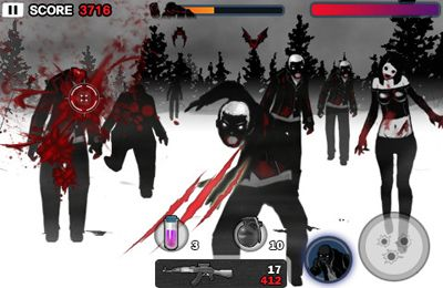 Écrans du jeu Zombie Killer Ultimate pour iPhone, iPad ou iPod.