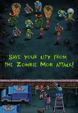 Free Zombie Mob Defense download for iPhone, iPad and iPod.