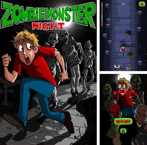 除了 iPhone、iPad 或 iPod 游戏,您还可以免费下载Zombie monsters night, 僵尸怪物夜。