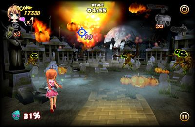 Гра Zombie Panic in Wonderland Plus для iPhone