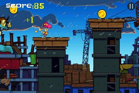 Free Zombie: Parkour runner download for iPhone, iPad and iPod.