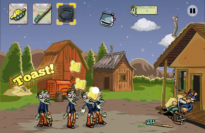 Download Zombie Pie iPhone free game.