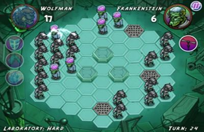 Screenshots vom Spiel Zombie Quest: Mastermind the Hexes! für iPhone, iPad oder iPod.