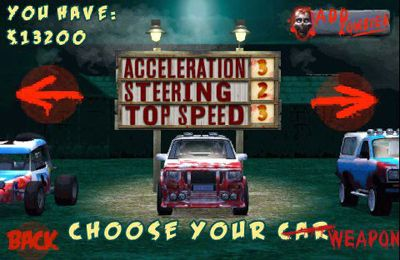 Download Zombie Racers iPhone free game.