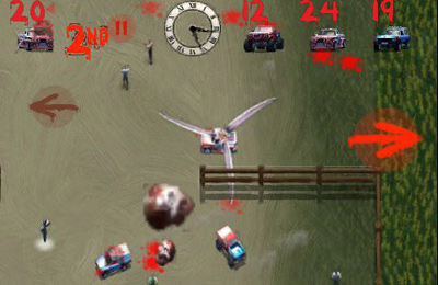 Screenshots of the Zombie Racers game for iPhone, iPad or iPod.