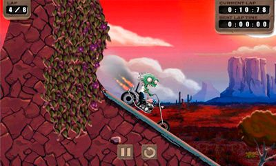 Download Zombie Rider iPhone free game.
