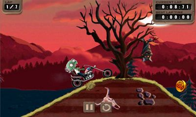 Screenshots do jogo Zombie Rider para iPhone, iPad ou iPod.
