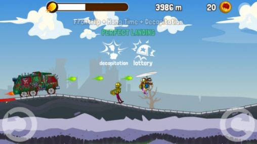 Capturas de pantalla del juego Zombie Road Trip para iPhone, iPad o iPod.