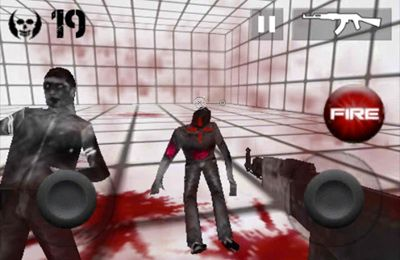 Descarga gratuita de Zombie Room para iPhone, iPad y iPod.