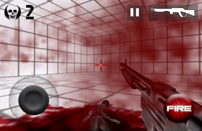 Capturas de pantalla del juego Zombie Room para iPhone, iPad o iPod.