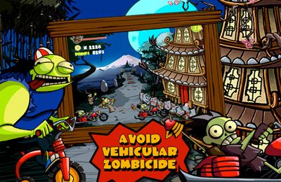 Screenshots of the Zombie Sam game for iPhone, iPad or iPod.