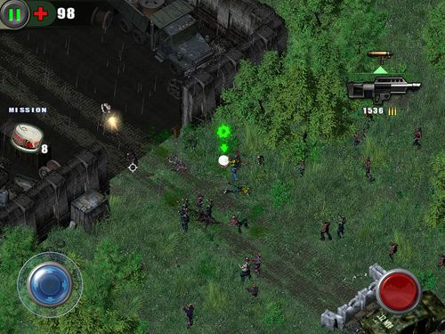 Free Zombie shooter: Infection download for iPhone, iPad and iPod.