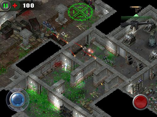 Écrans du jeu Zombie shooter: Infection pour iPhone, iPad ou iPod.