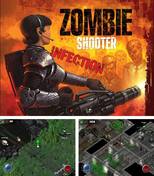 除了 iPhone、iPad 或 iPod 游戏,您还可以免费下载Zombie shooter: Infection, 。