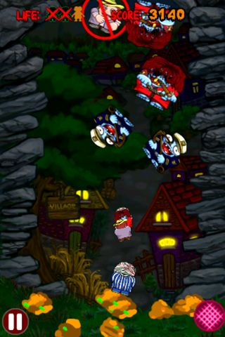 Capturas de pantalla del juego Zombie slasher para iPhone, iPad o iPod.