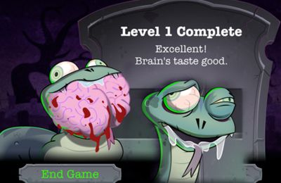 Capturas de pantalla del juego Zombie Snake para iPhone, iPad o iPod.