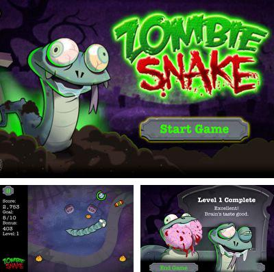 In addition to the game Motorbike GP for iPhone, iPad or iPod, you can also download Zombie Snake for free.