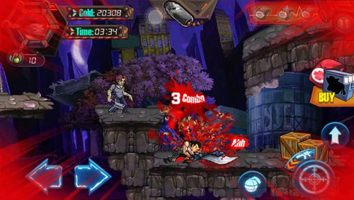 Capturas de pantalla del juego Zombie sniper fighter para iPhone, iPad o iPod.