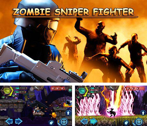 In addition to the game Cogs for iPhone, iPad or iPod, you can also download Zombie sniper fighter for free.