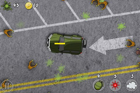 Download Zombie splat iPhone free game.