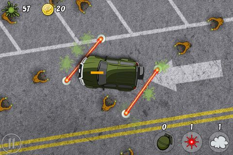 Free Zombie splat download for iPhone, iPad and iPod.