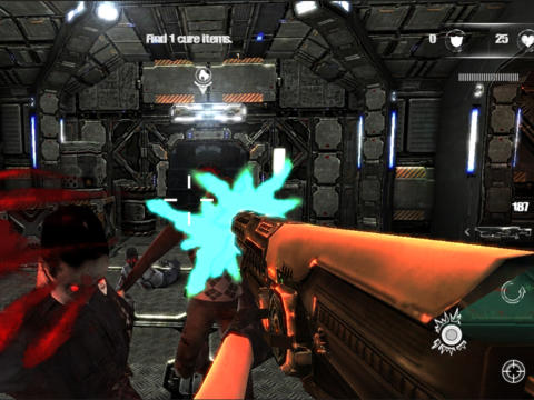 Descarga gratuita de Zombie Strike para iPhone, iPad y iPod.