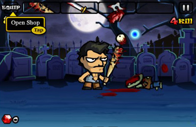 Descarga gratuita de Zombie Sweeper para iPhone, iPad y iPod.