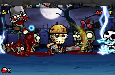 Screenshots of the Zombie Sweeper game for iPhone, iPad or iPod.