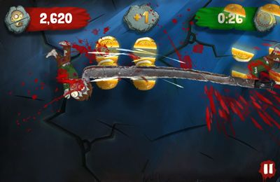Descarga gratuita de Zombie Swipeout para iPhone, iPad y iPod.