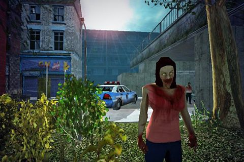 Screenshots of the Zombie tales game for iPhone, iPad or iPod.