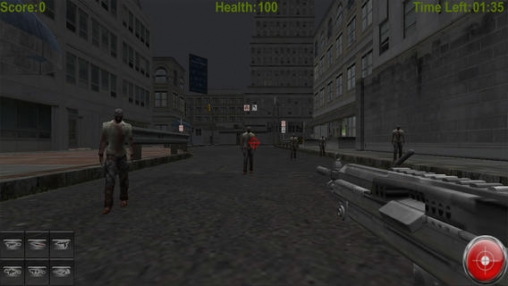 Capturas de pantalla del juego Zombie Time 3D para iPhone, iPad o iPod.