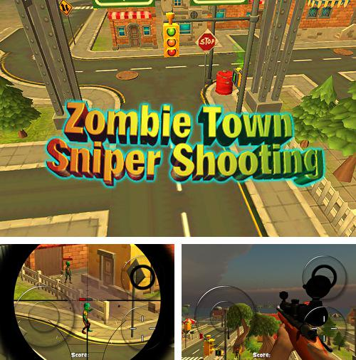 Download Zombie town: Sniper shooting iPhone free game.