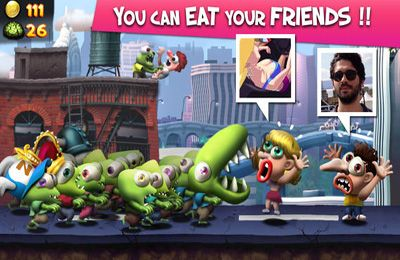 Screenshots do jogo Zombie Tsunami para iPhone, iPad ou iPod.