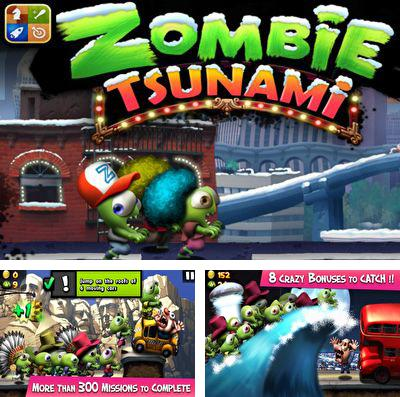 In addition to the game Falling People for iPhone, iPad or iPod, you can also download Zombie Tsunami for free.