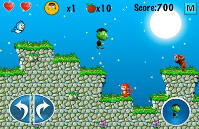 Screenshots of the Zombie vs. Animals game for iPhone, iPad or iPod.