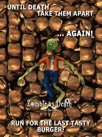 Capturas de pantalla del juego Zombie vs. Death para iPhone, iPad o iPod.