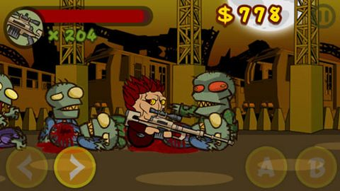 Download Zombie walker iPhone free game.