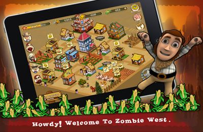 Download Zombie West iPhone free game.