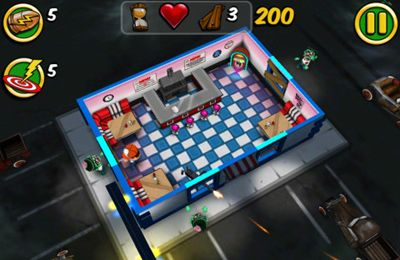 Screenshots of the Zombie Wonderland 2 game for iPhone, iPad or iPod.